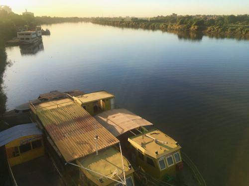 El Nilo a su paso por Khartoum (Jartum) Sudán