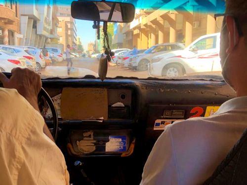 Un taxi en Khartoum (Jartum)