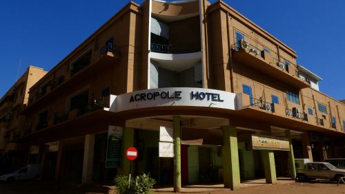 El Hotel Acropole de Khartoum (Jartum)