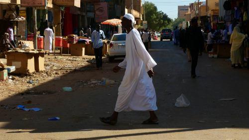 Un hombre en Khartoum (Jartum)