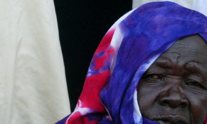 Una mujer en Khartoum (Jartum)