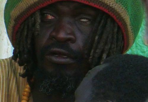 Un derviches entrando en trance en Omdurman (Khartoum)