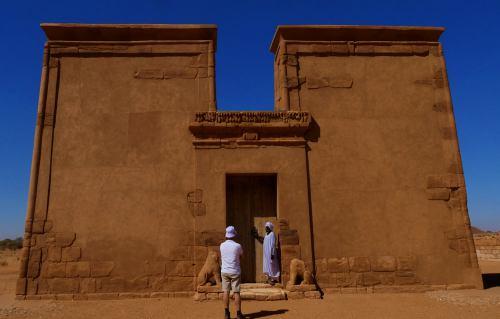 Templos de Massawarat es-Sufra en Sudána