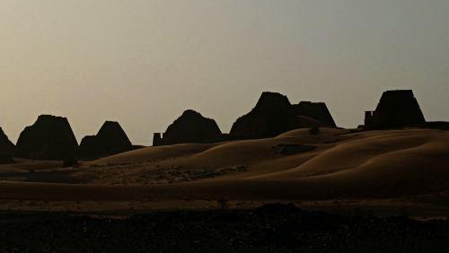 Las Pirámides de Meroe (Sudán)