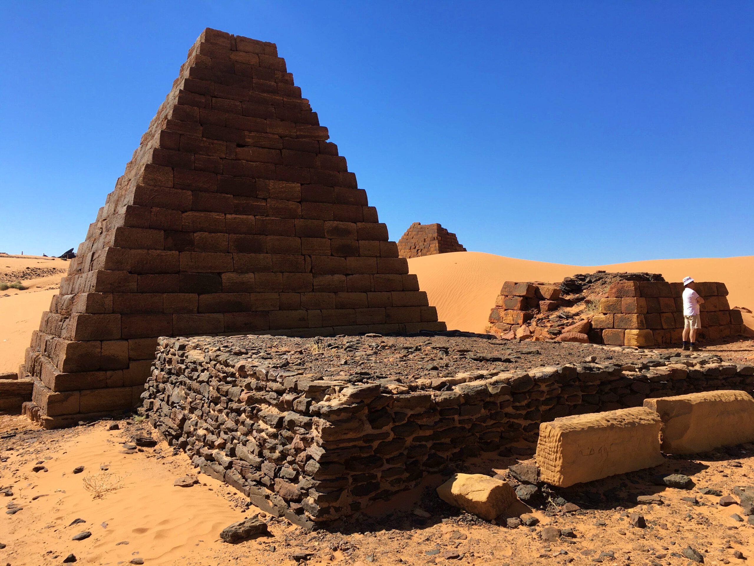 Las Pirámides de Meroe