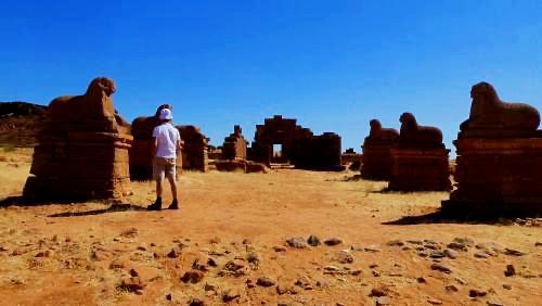 Templo de Amón en Naqa (Sudan)