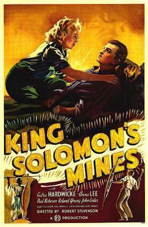Las minas del rey Salomón 1937