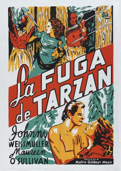 La fuga de Tarzan